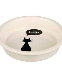 Katten voerbak keramiek