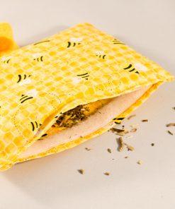 Kattenkruid speeltje geel bijen