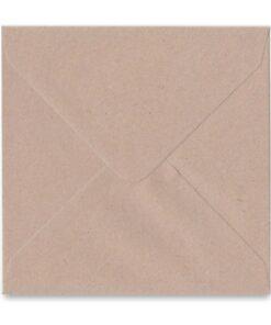 Kaart gerecycleerd envelop